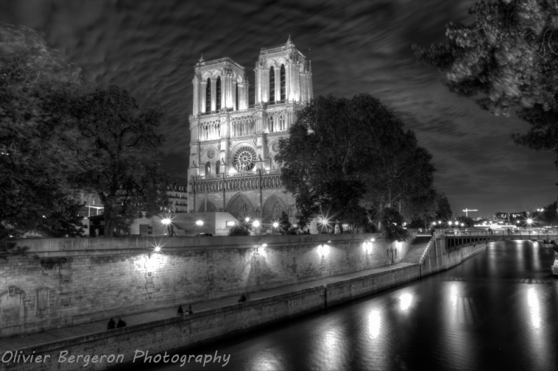 Notre Dame de Paris - HDR landscape - Paris - France