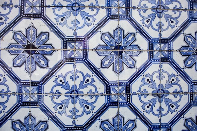 azulejos details - lisbon - portugal