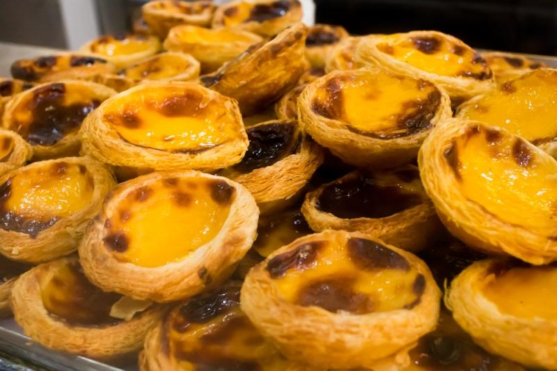 pastel de nata - lisbon - portugal