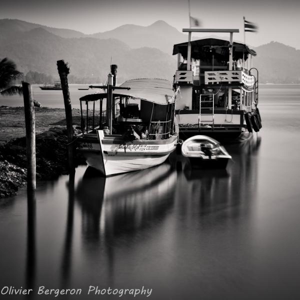 three boat - Koh chang - thailand