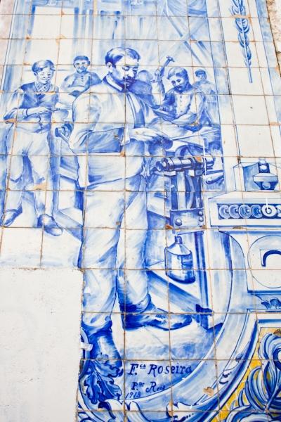 azulejo - lisbon - portugal