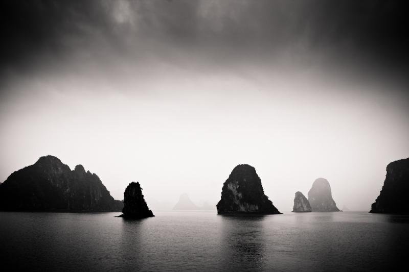 Along Bay landscape - Vietnam