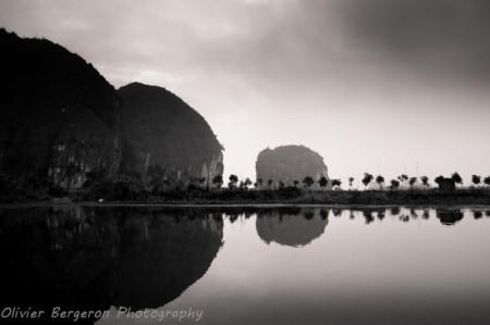 Ngo Dong river, Tam Coc - Ninh Binh , Vietnam , landscape