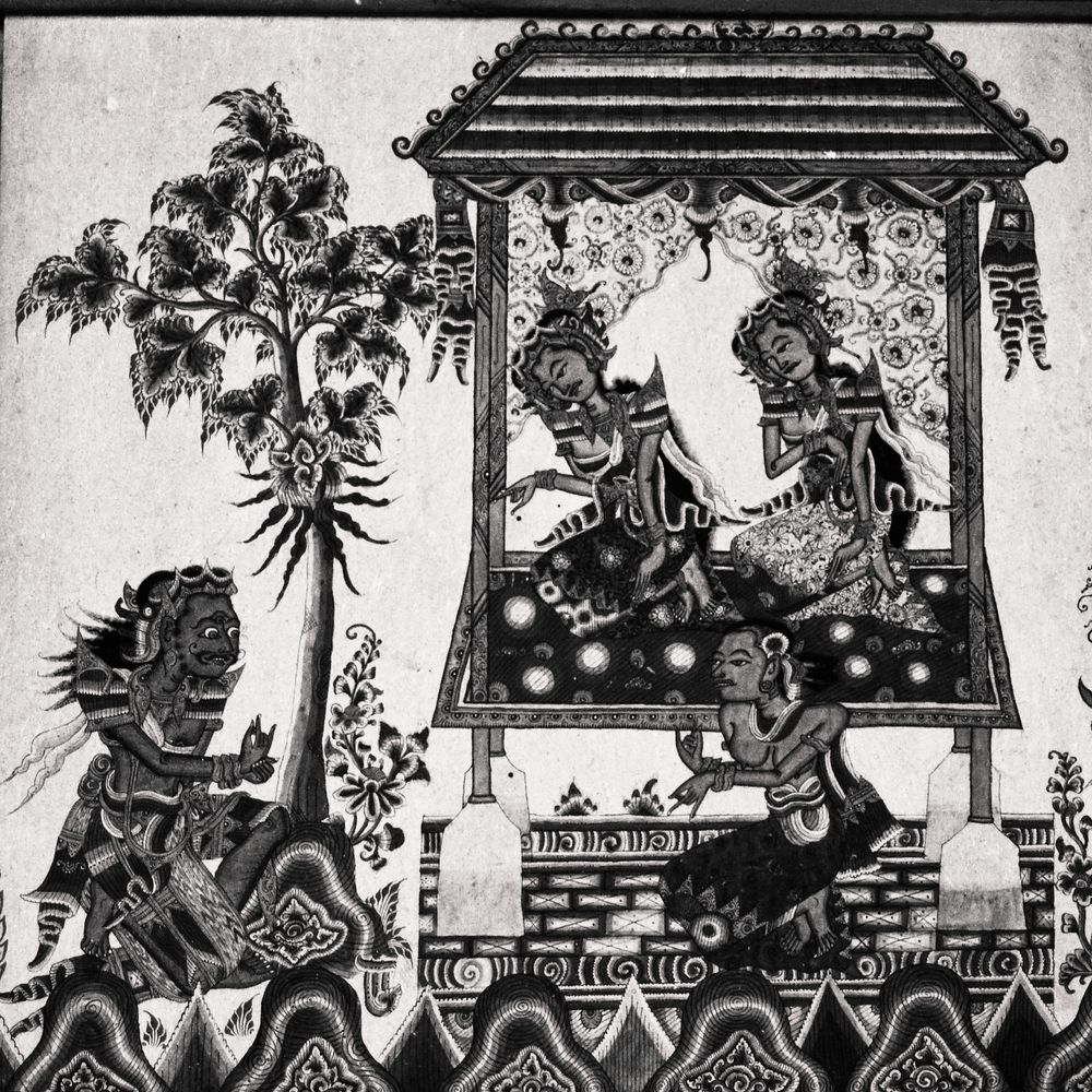 Fresque - Kerta gosa - Bali