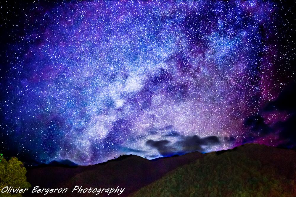 Milky way - Doi Phu Kha National Park - Thailand