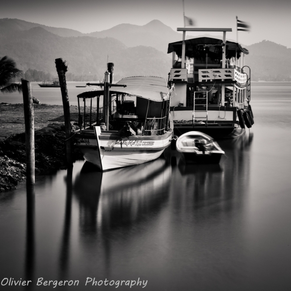 three boat - Koh chang - thailand