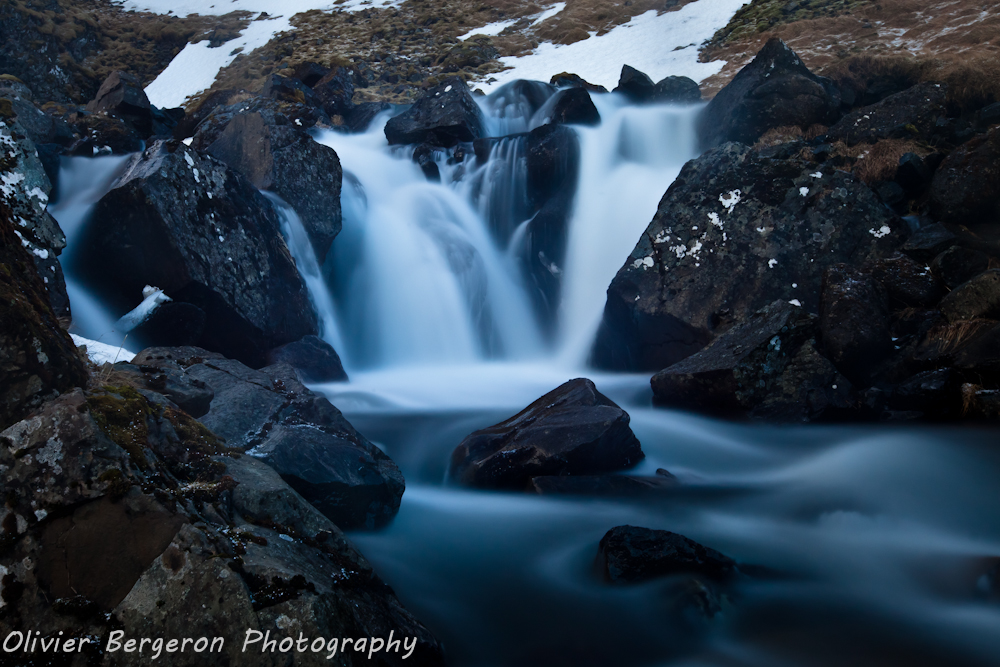 Waterfall of snaefellsnes - Iceland - landscape - waterscape