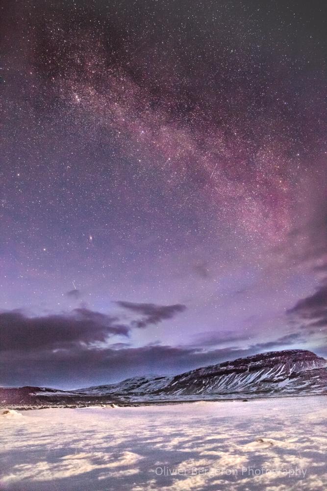 Milky Way - Kalfafell - Iceland