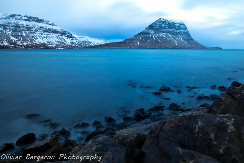 Kirkjufell in winter - kirkjufell - iceland - landscape
