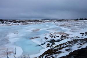 Thingvellir - iceland - winter - landscape