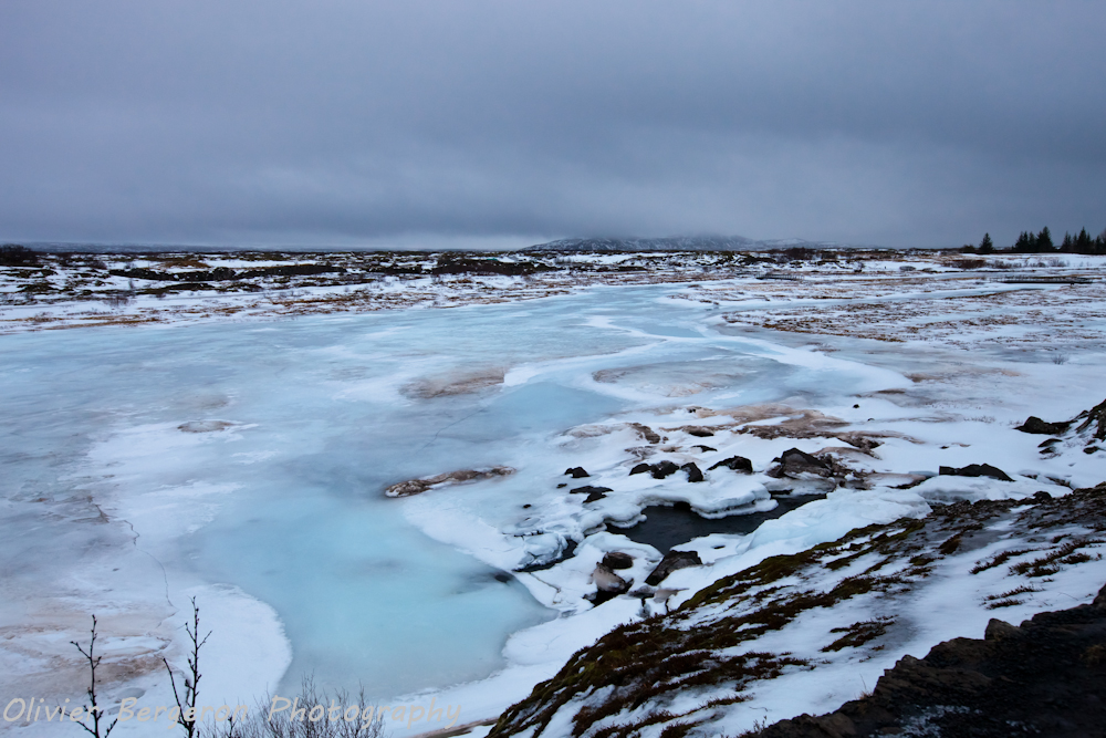 Thingvellir - iceland - winter - landscape