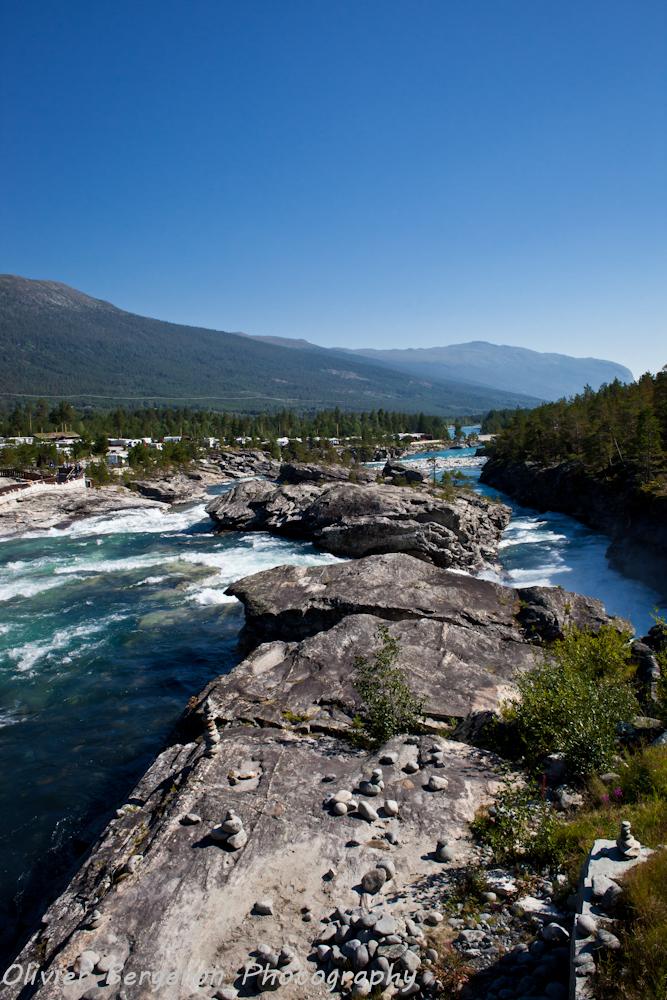 Donnfossen waterfall - Norway