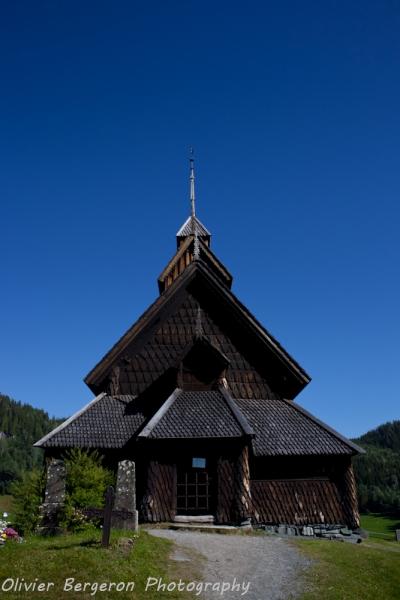 eidsborg church - norway