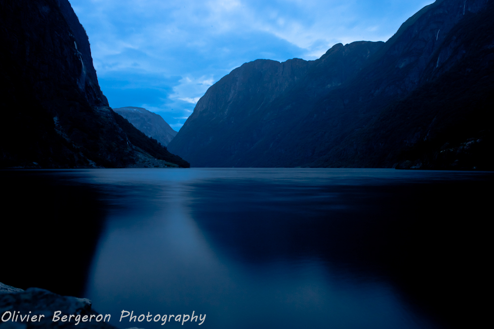 Naeroyfjord - morning - Norway