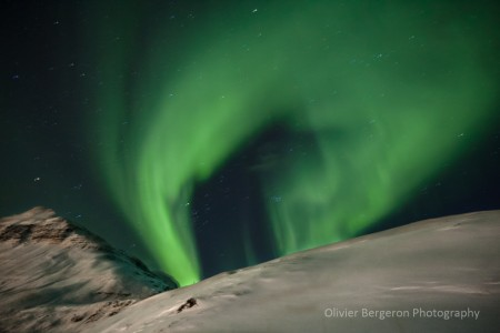 Aurora - Seydisfjordur - Iceland - オーロラアイスランド