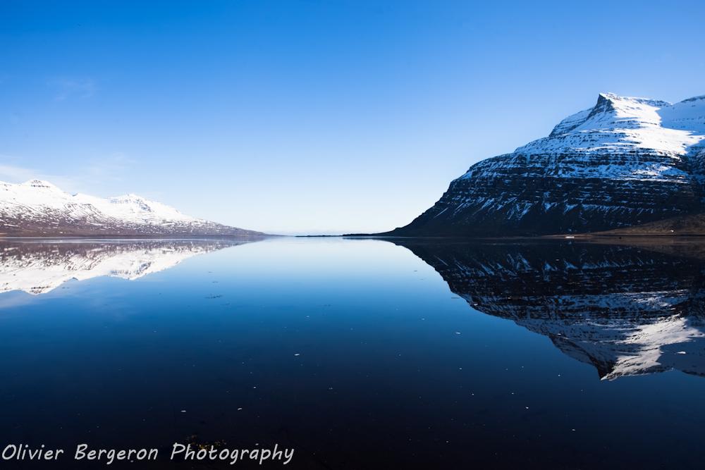 Berufjordur - sea landscape - iceland