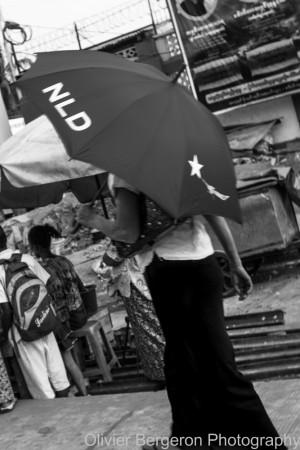 National League for democracy - Yangon 2012 - Myanmar