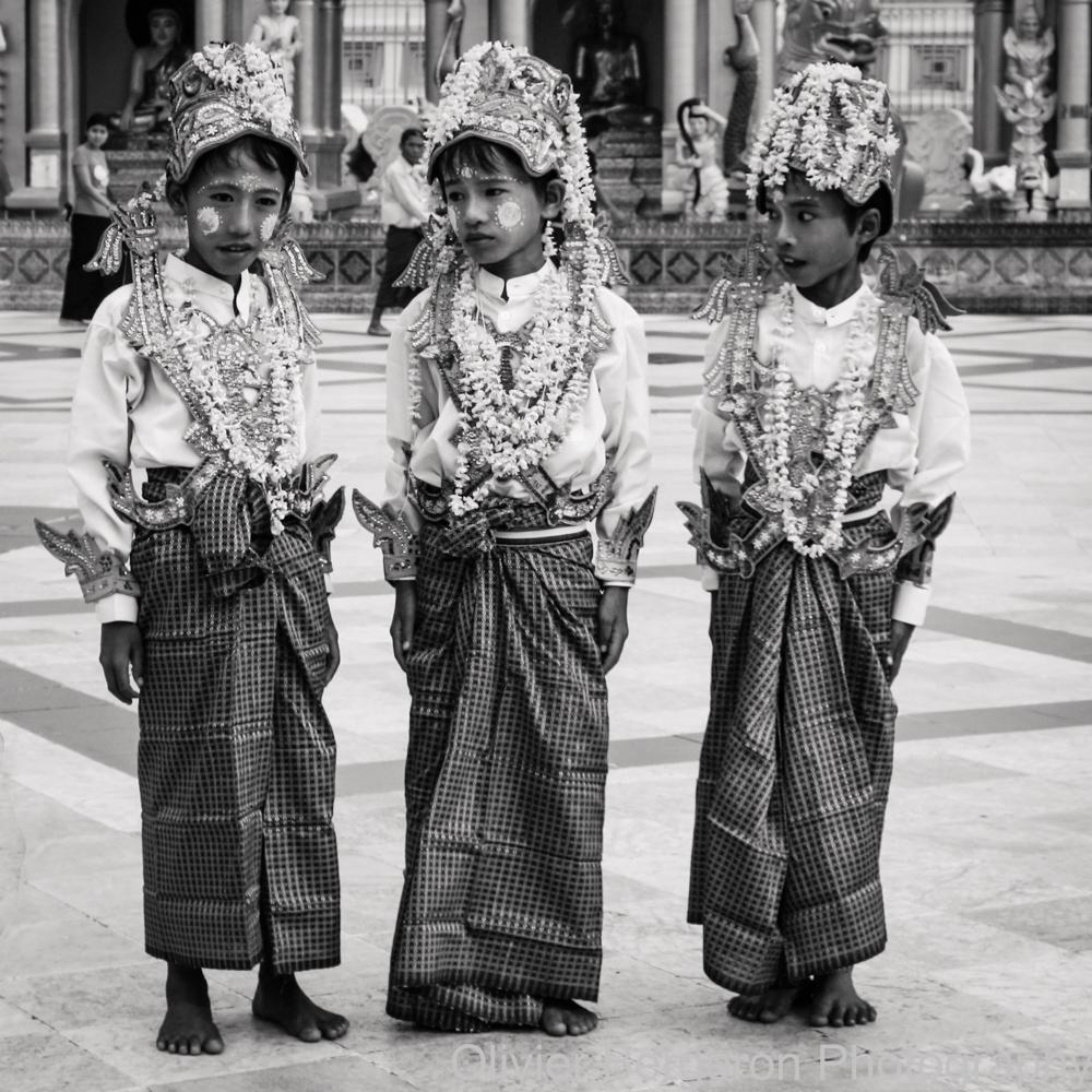 Three Boys - yangon 2012 - Myanmar