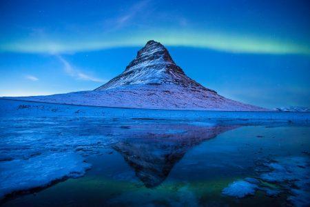 オーロラアイスランド