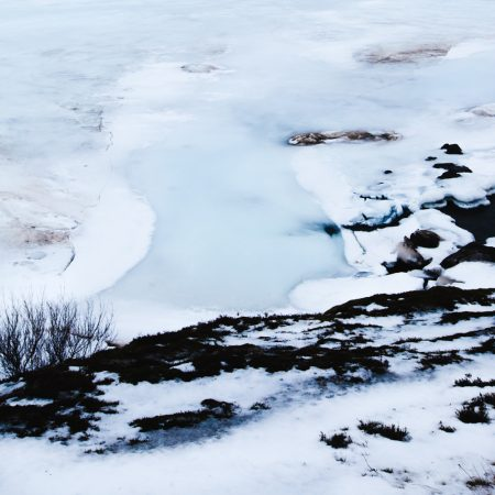 Ice abstraction - Iceland