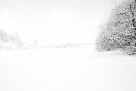 Puy des Goules - Auvergne - France - winter landscape - paysage d'hiver