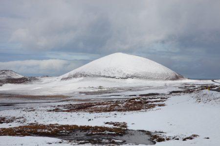Snæfellsnes mountain - snow landscape - Iceland