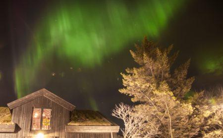 northern lights - reykjavik