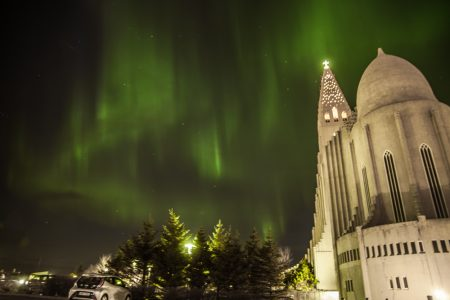 northern lights - reykjavik - aurora borealis