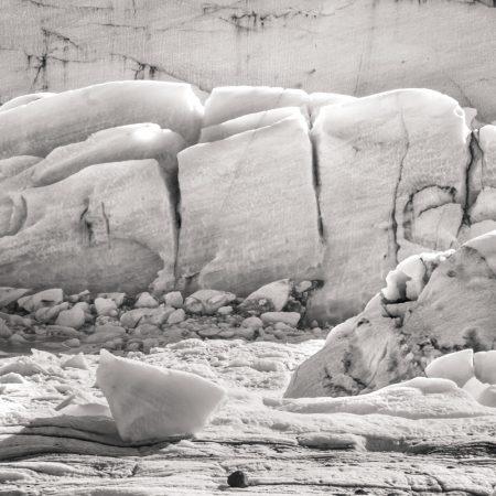 glacier iceland svinafelljokull landscape