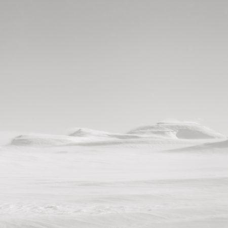 Three hills - North Iceland - winter landscape