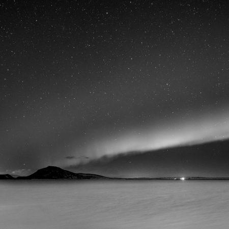 Northern lights - Lake Myvatn - Iceland