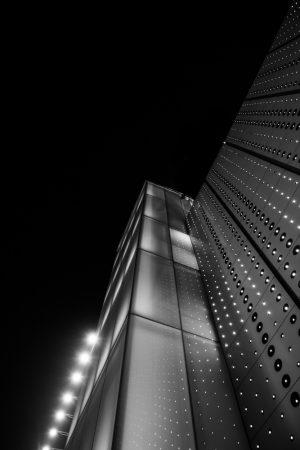 Light tower - modern structure -architecture - Bankgok