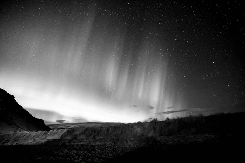 aurora borealis - petursey - iceland