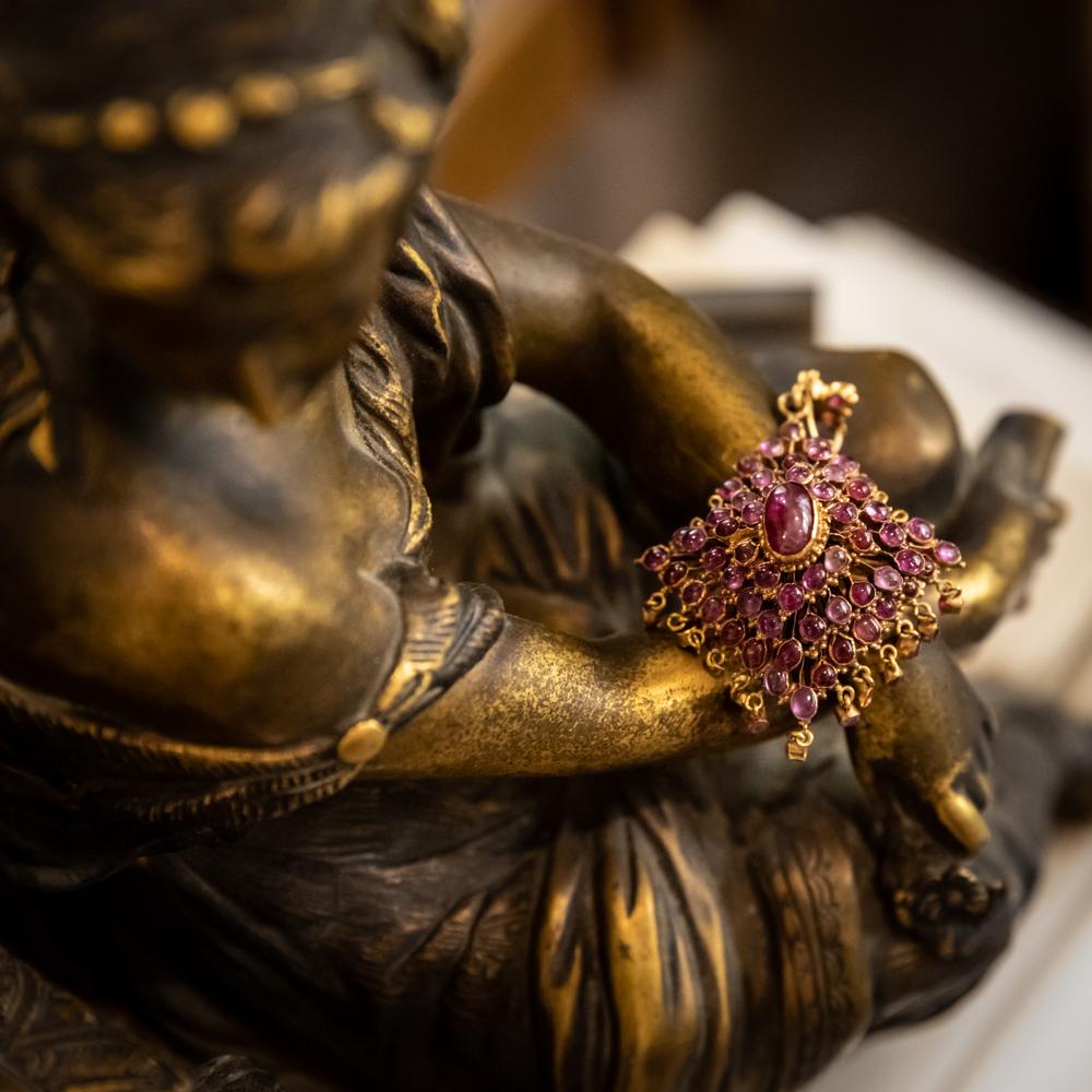 金红宝石吊坠-泰国