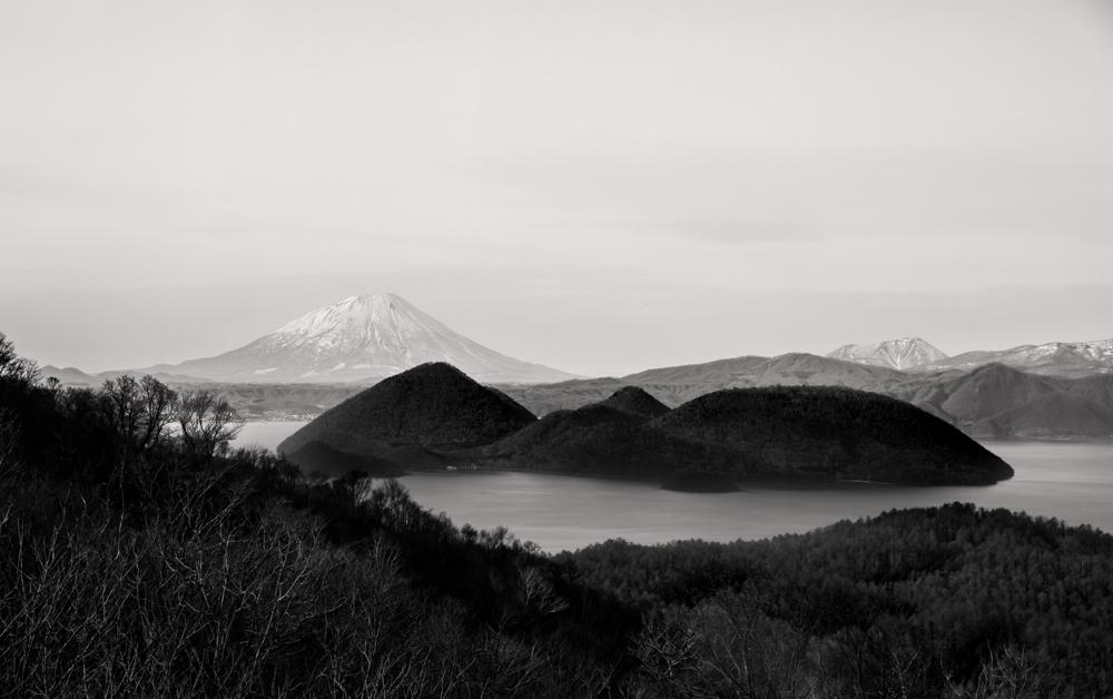 Lake Toya - Nakanoshima - Mount Yotei