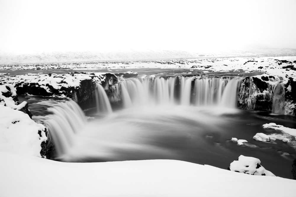 godafoss waterfall  - iceland
